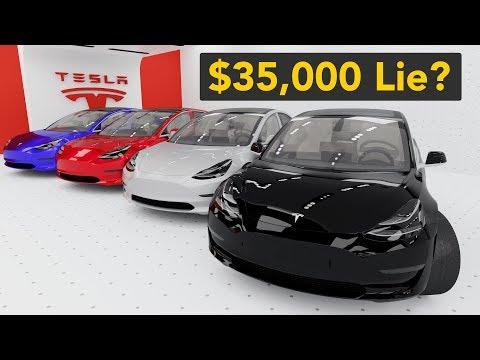 Is the $35K Tesla Model 3 a Lie?