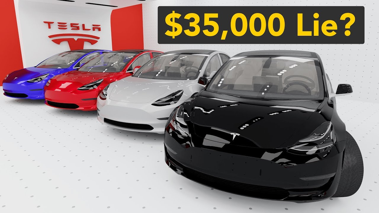 Is Tesla ever going to build a $35k base Model 3? - YouTube