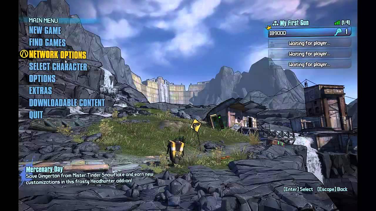 borderlands 2 1 7 0 + all DLC + tunngle - multiplayer online