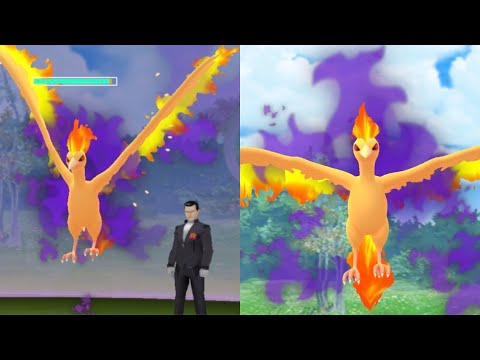 CATCHING SHADOW MOLTRES!! Giovanni January Battle Strategy