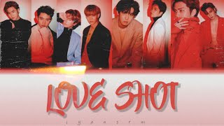 EXO 엑소 LOVE SHOT 컬러 가사lyrics color