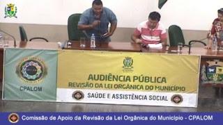 Audiência Pública: Saúde e Assistência Social