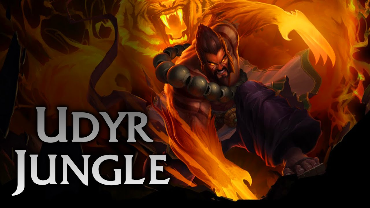 League Of Legends Spirit Guard Udyr Jungle Full Game Commentary
