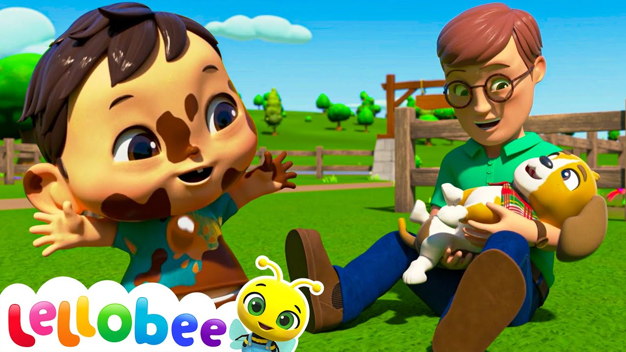 I Love My Daddy Song!   Lellobee: Nursery Rhymes & Baby Songs   Learning Videos For Kids