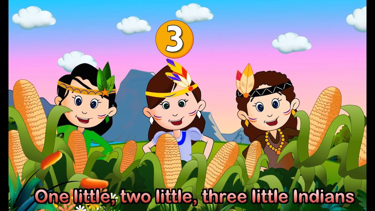 Ten Little Indians - Nursery Rhymes - video dailymotion