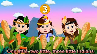 Ten Little Indians with lyrics - Nursery Rhymes by EFlashApps