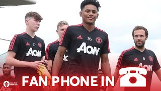 Back in Training, WHO WILL STEP UP? Manchester United Fan Phone In!