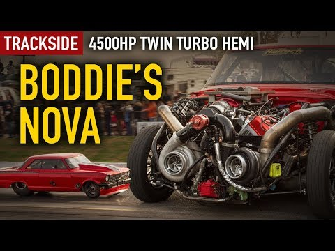 Trackside: Boddie'S 4500hp, twin turbo Hemi Nova