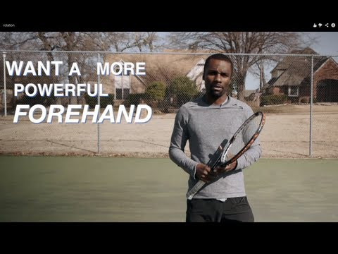 Forehand - How To Hit Powerful Forehands With Better Acceleration