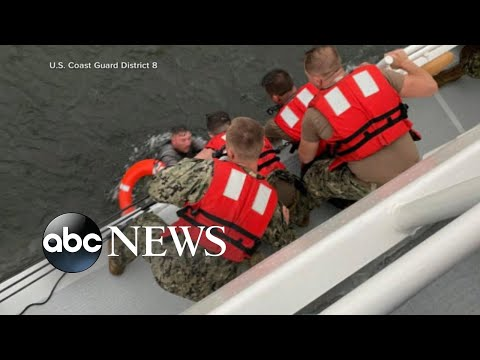 At least 6 rescued, others missing after commercial boat capsizes off Louisiana coast