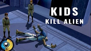 Children Savagely Attack Ithorian For Fun [KOTOR QUOTES]