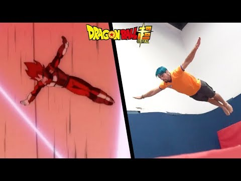 Stunts From Dragon Ball Super In Real Life (DBS Part 2)
