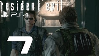 Resident Evil HD Remaster (PS4) - Chris Walkthrough Part 7 - Plant 42 & Wesker