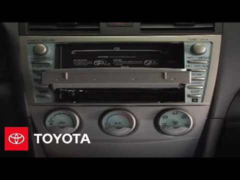 2007 - 2009 Camry How-To: CD Function - Navigation System | Toyota
