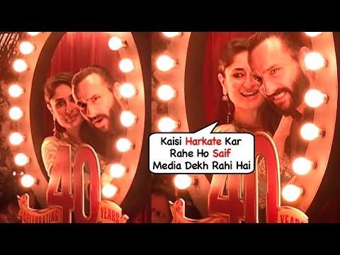 Kareena Kapoor Embarrased Of Saif Ali Khan's Behaviour At Prithvi Theatre Festival