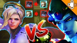 MERCY OUTSNIPES WIDOW! - Overwatch Funny & Epic Moments 345