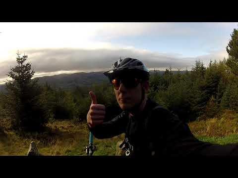 Mountain Biking Scotland Riding The Giant Trance 27 5
