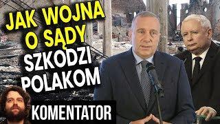 Jak Wojna o Sądy Niszczy Życie Polaków - Analiza Komentator Pieniądze PIS Platforma Polityka Bank PL