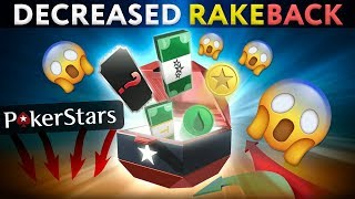 Pokerstars decreasing Rakeback AGAIN