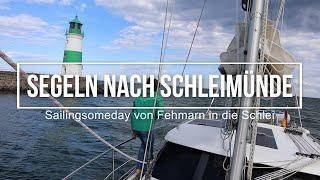 Segeln nach Schleimünde, Sailingsomeday mit ihrer Sirius 310 DS von Fehmarn in die Schlei