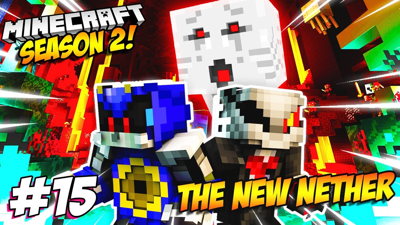 Infinite & Metal Plays Minecraft Part 15 - THE NEW NETHER!!!