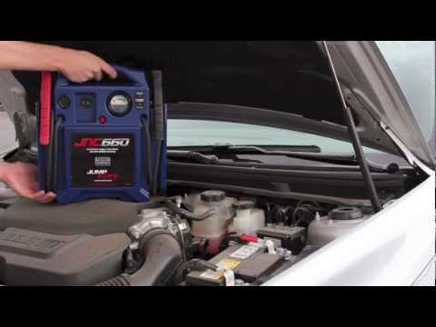 Jump N Carry Jnc660 >> Jump Starting a Vehicle with the Jump-N-Carry JNC660 12V Jump Starter - YouTube