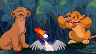 Repeat youtube video The Lion King Just can't wait to be king HD
