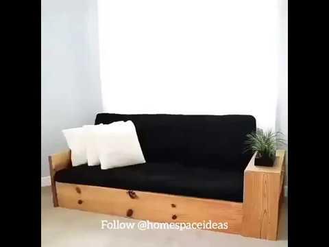 DIY Sofa bed keren