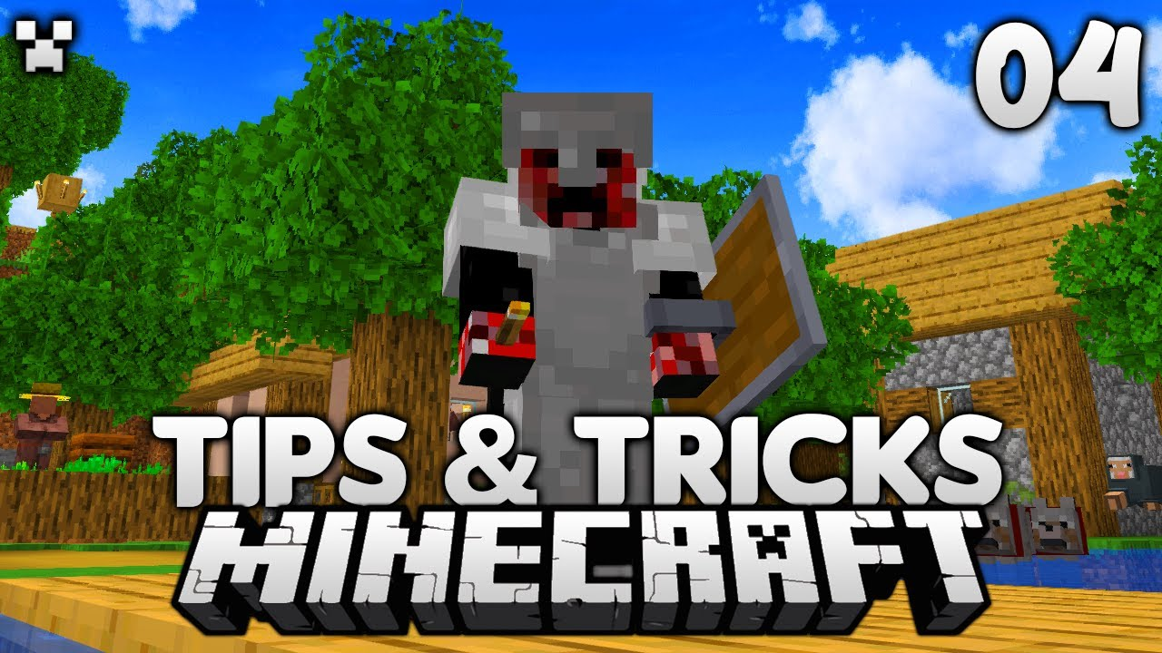 Exploring Tips/Tricks!   Let's Play Minecraft Survival Ep.4