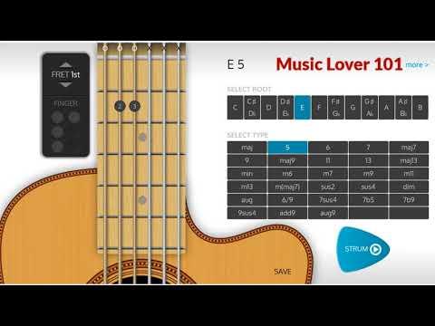 E5 Chord Guitar