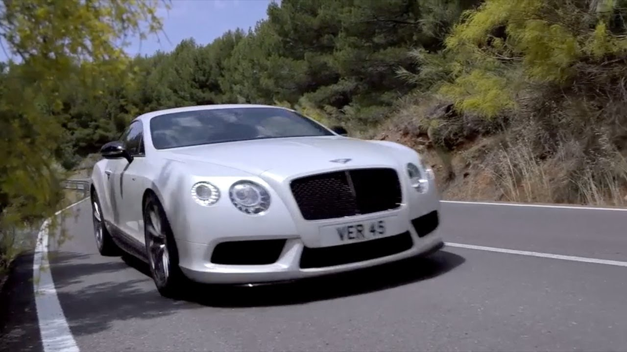 NEW 2014 Bentley Continental GT V8 S - YouTube