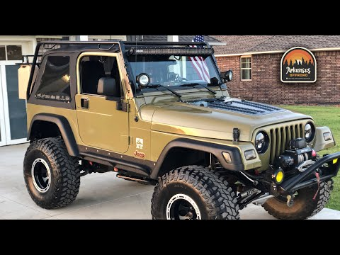 Jeep Wrangler TJ – Extreme Detailed Clean & Cheap DIY Mods