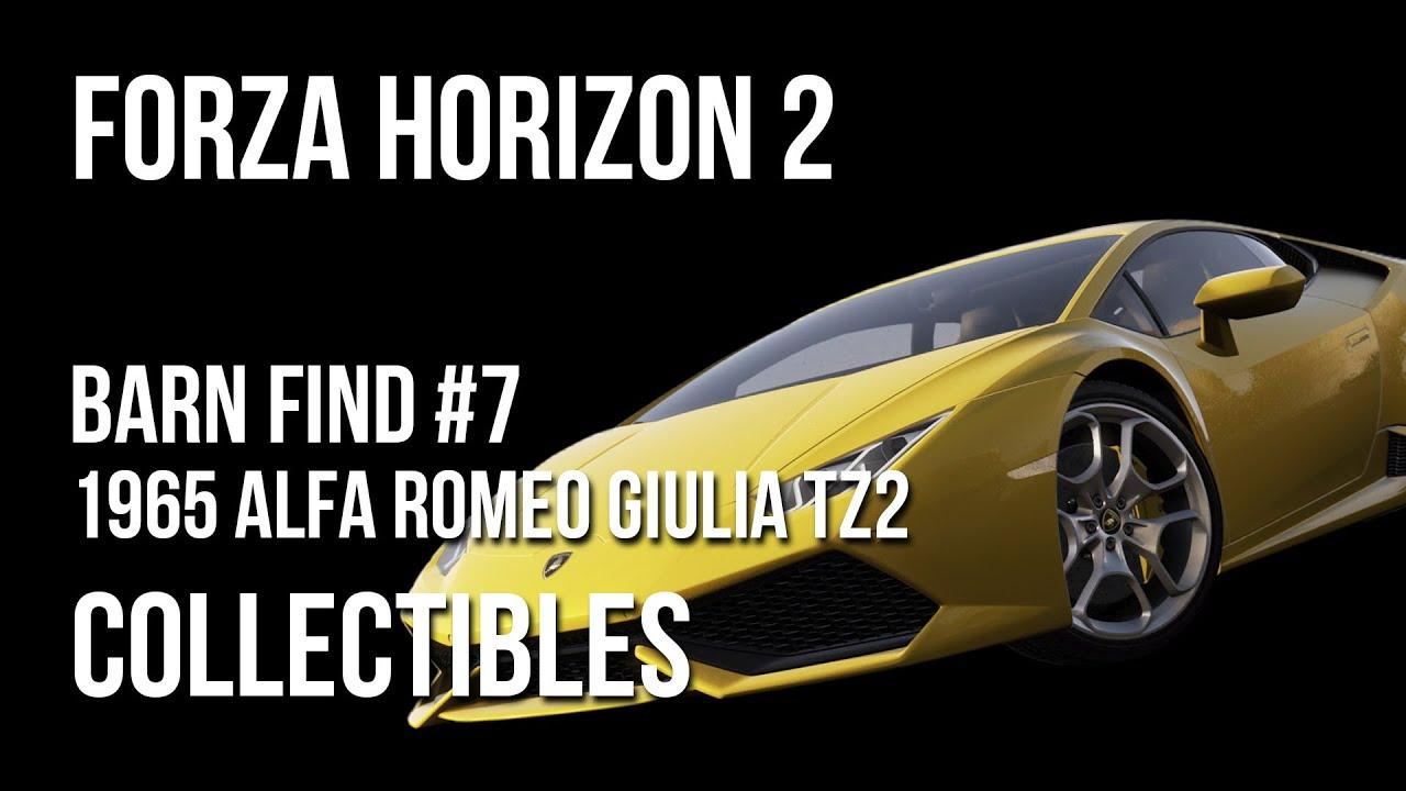 Forza Horizon  Car In The Barn