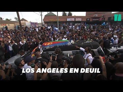 Nipsey Hussle: des dizaines de milliers de personnes à ses funérailles