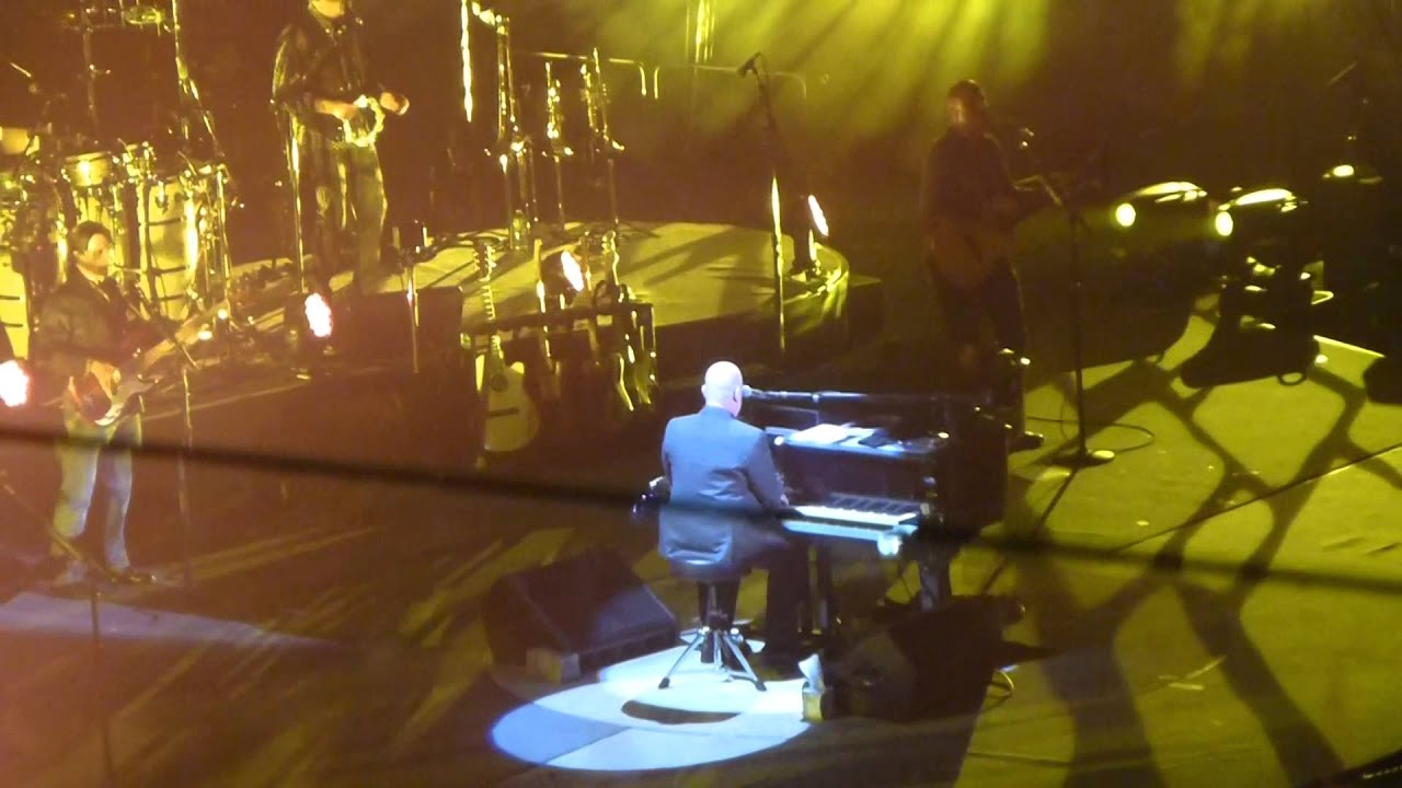 Billy Joel - Allentown HD @ Madison Square Garden 9-26-2015 - YouTube