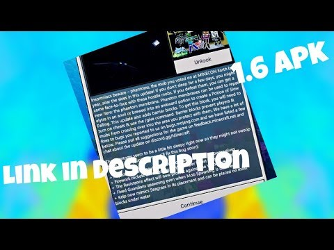 Minecraft Pocket Edition 1.6 Official APK Download (Xbox live working)