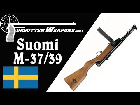 The Swedish Suomi M-37/39 Submachine Gun
