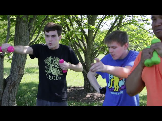 PROJECT CHEER Exercises: Air Punches
