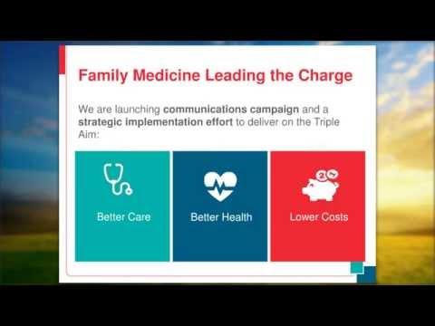 Family Medicine for America's Health Webinar: Make Health Primary
