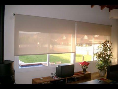 Como hacer cortinas store paso a paso youtube - Como confeccionar cortinas ...