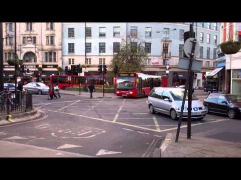 London Bus & Tube at Hammersmith