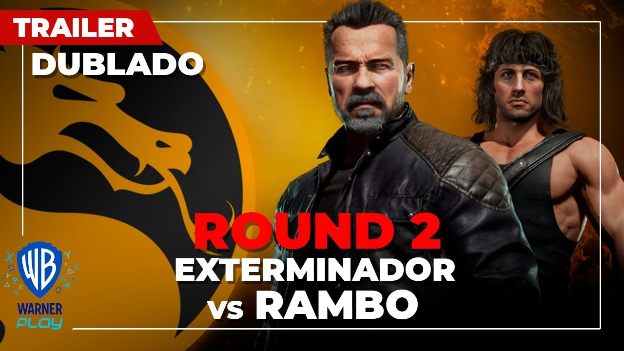 Mortal Kombat 11 Ultimate | Exterminator vs Rambo - Trailer Dublado