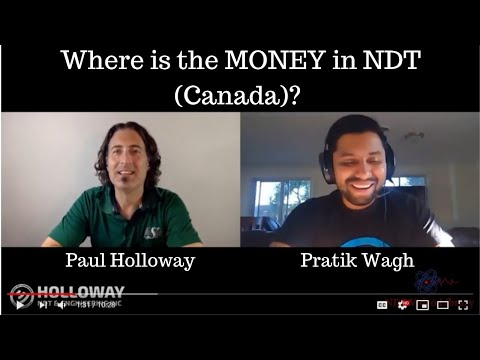Paul Holloway QnA #5 Of 5:Where Is The Money In NDT In Canada?