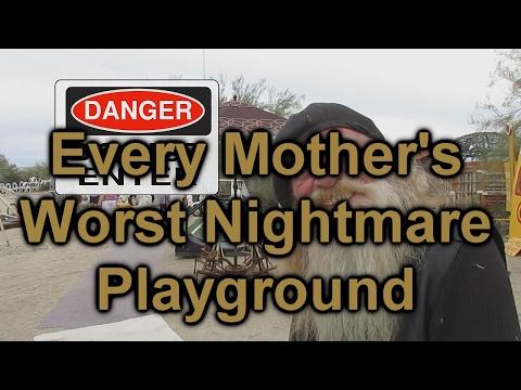 Every Mother's Worst Nightmare Playground: East Jesus, California