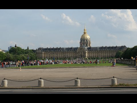 Visiting Les Invalides, Les Invalides in Paris, France