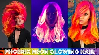 Download lagu Phoenix Neon Glowing Hair MP3