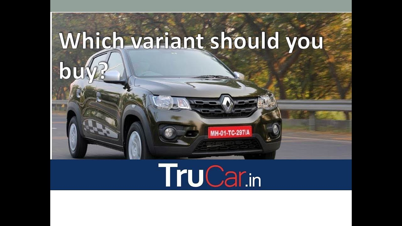 Renault Kwid Variants Explain Std Rxe Rxl Rxt Climber In