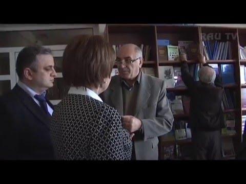 Российский центр науки и культуры в Ереване подарил Библиотеке РАУ новую научную литературу!
