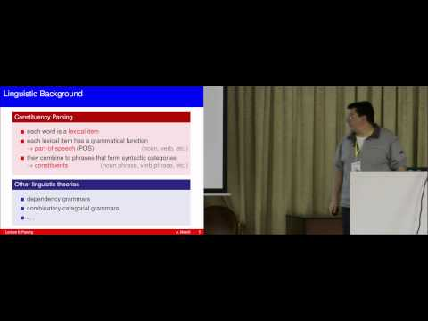 CSEDays. Theory 2014. Applications of automata theory in... (Andreas Maletti) day 1