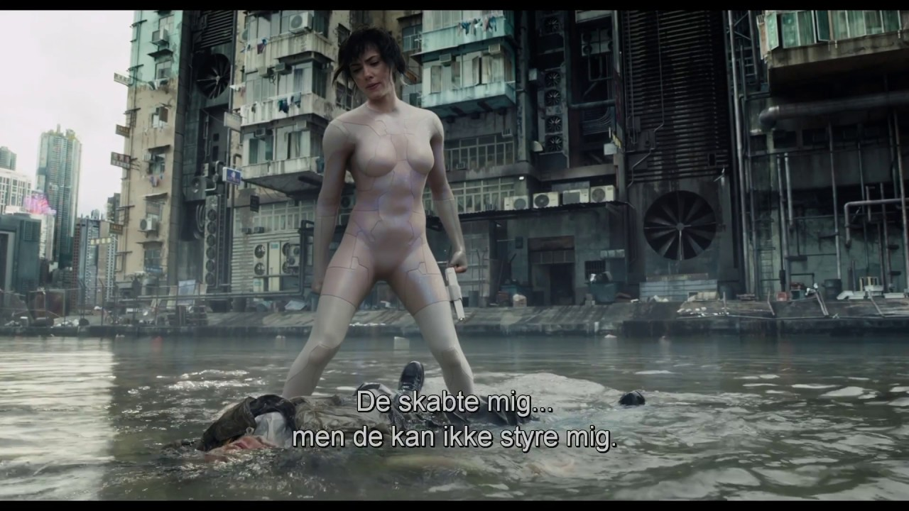 Ghost in the Shell trailer 2 - I biografen 6. april